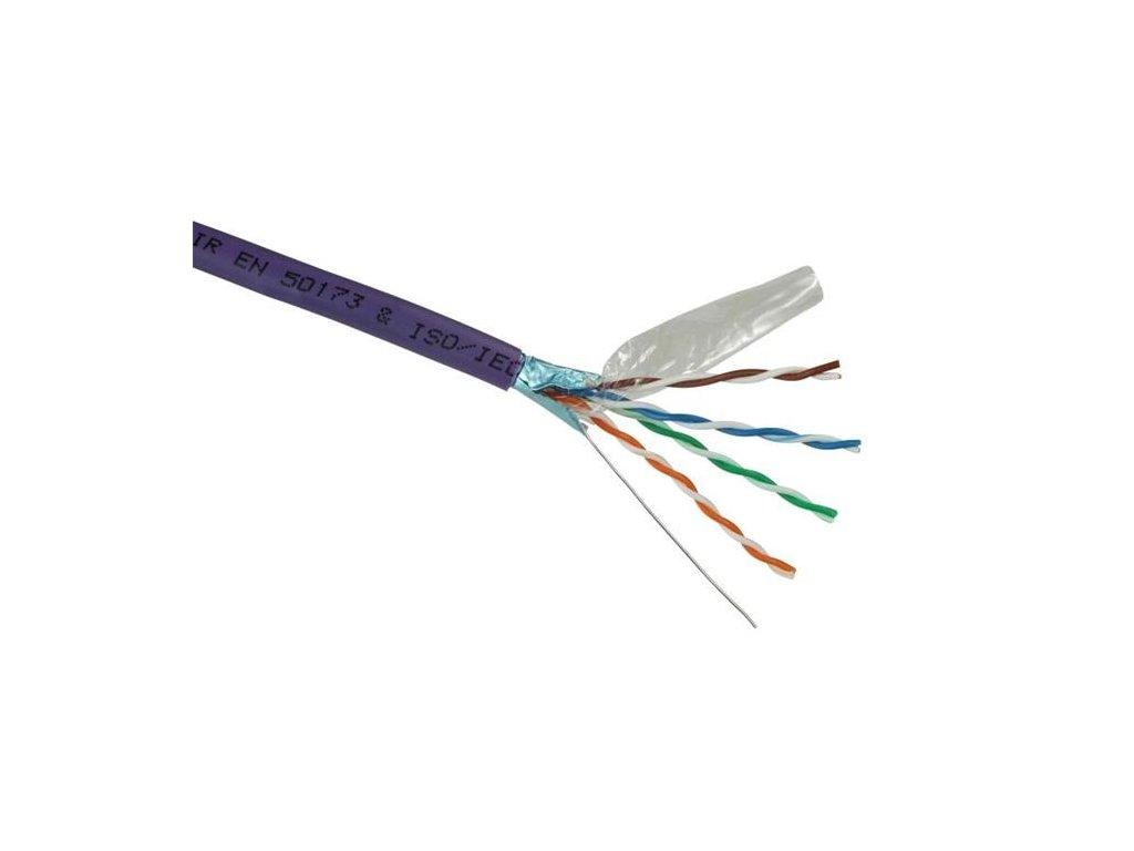 solarix instalacni kabel cat5e ftp lsoh 305m box ien328532