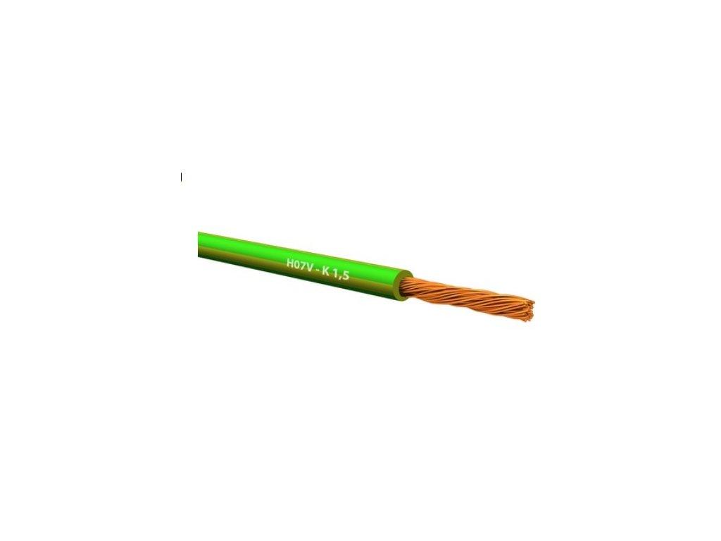 73453 cya 1 zelenozlty h05v k 1 mm