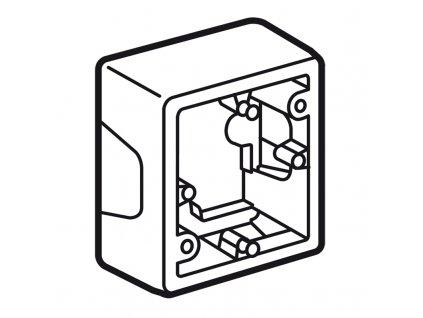 82384 valena krabica pre povrchovu montaz
