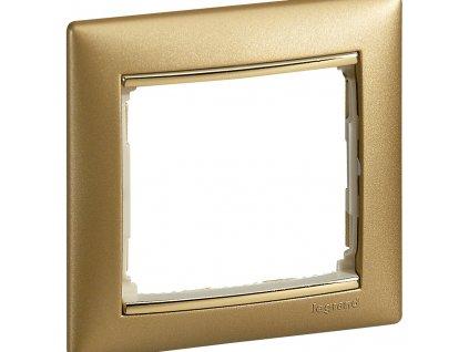80476 valena ramik jednoduchy matne zlato