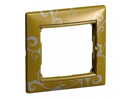 80176 valena ramik jednoduchy zlato barokove