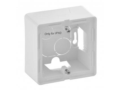 79864 valena life krabica na povrch 1p biela