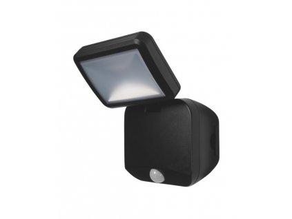 3096 battery led spotlight single bk ledv