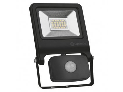 5409 floodlight value sensor 20 w 4000 k ip44 bk