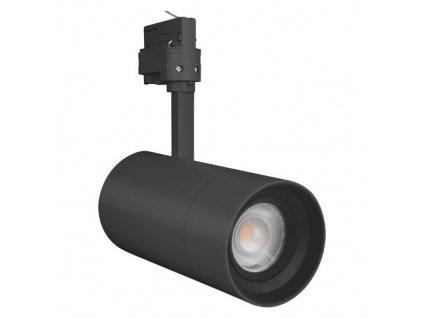 3918 tracklight spot zoom dim d85 25 w 3000 k 97r bk