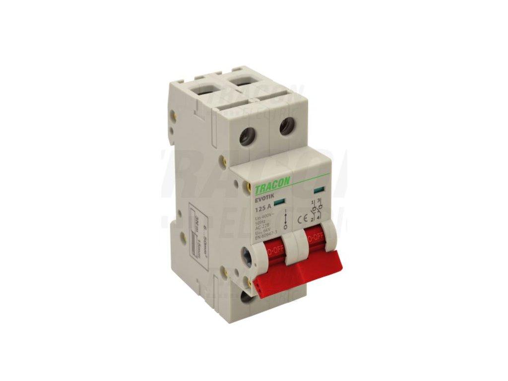 Modulárny vypínač 2P 20A TIK2-20 Tracon