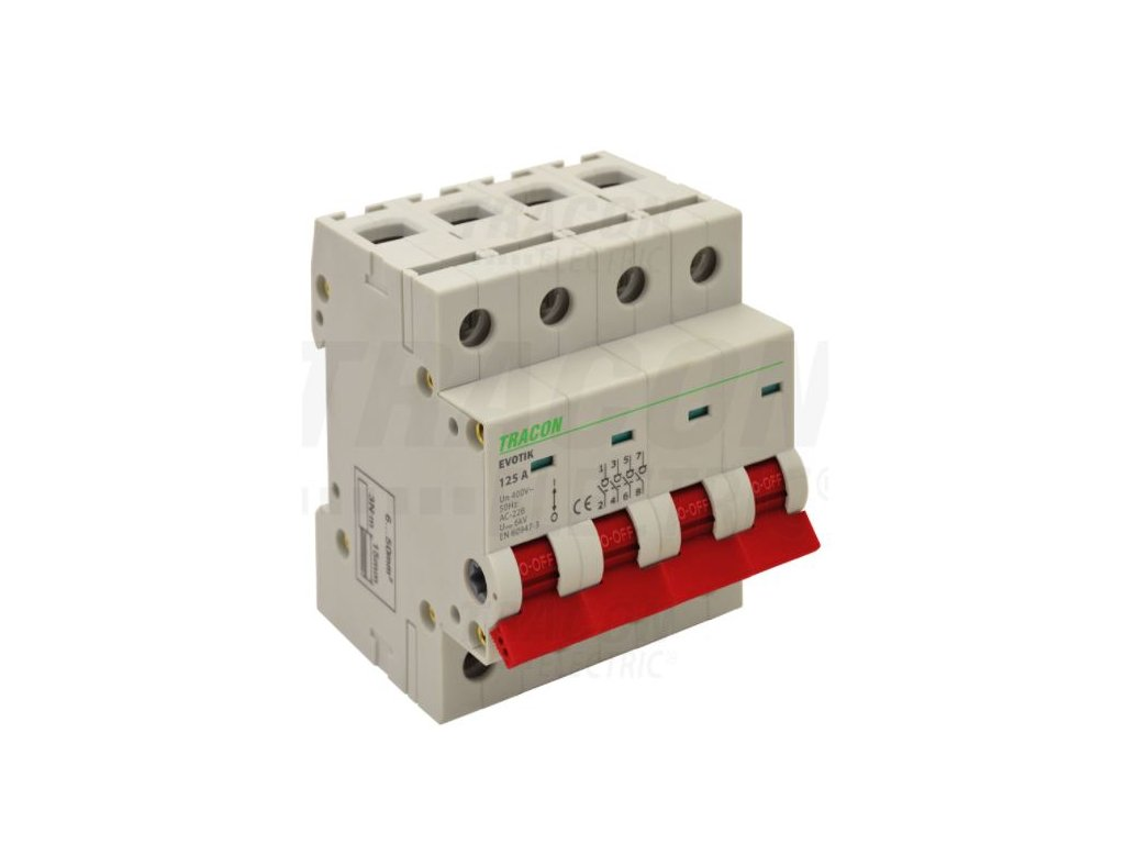 Modulárny vypínač 4P 40A TIK4-40 Tracon