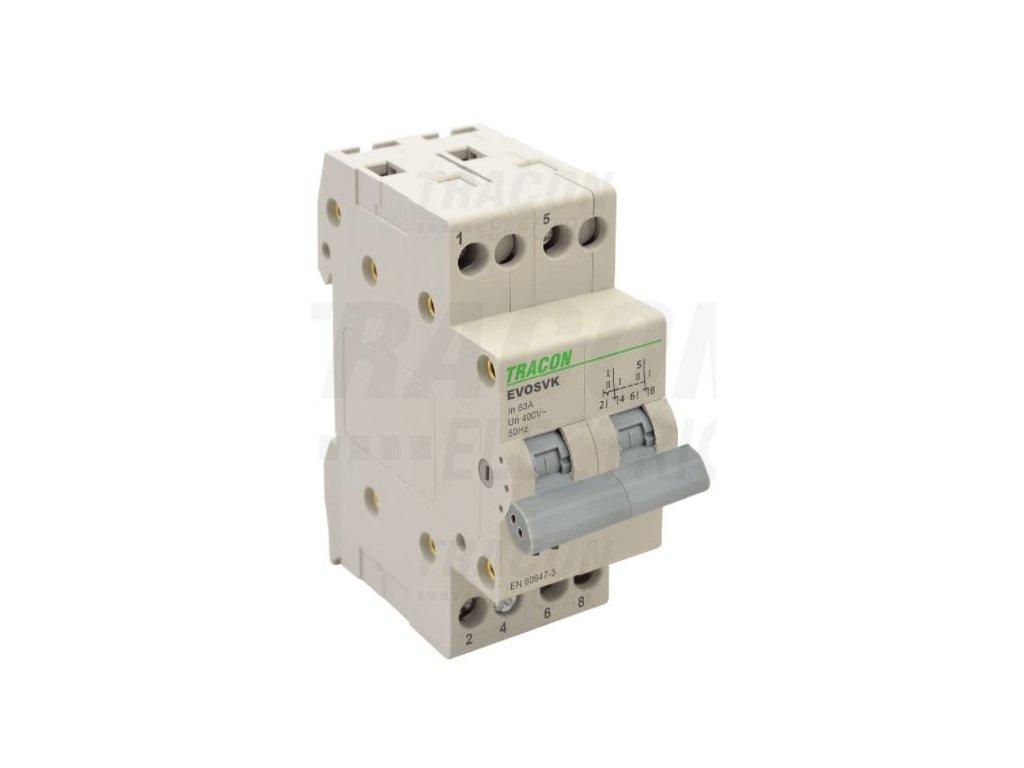 Modulárny prepínač 2P 63A SVK2-63