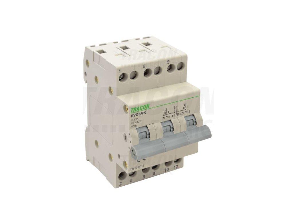 Modulárny prepínač 3P 32A SVK3-32