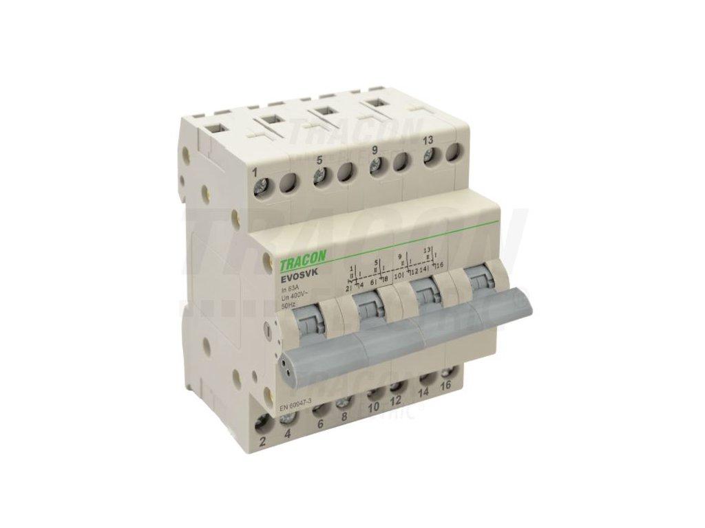 Modulárny prepínač 4P 16A SVK4-16