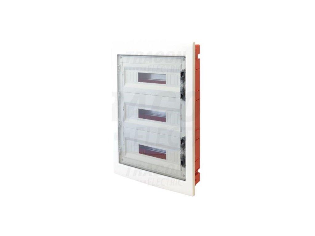 Rozvodná skriňa podomietková 36 (3x12) IP40 EDSS-12/3