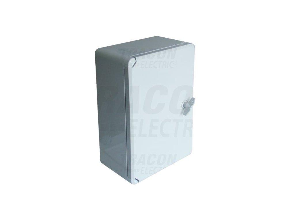 Rozvodná skriňa na povrch prázdna 210x280x130mm IP65 TME282113