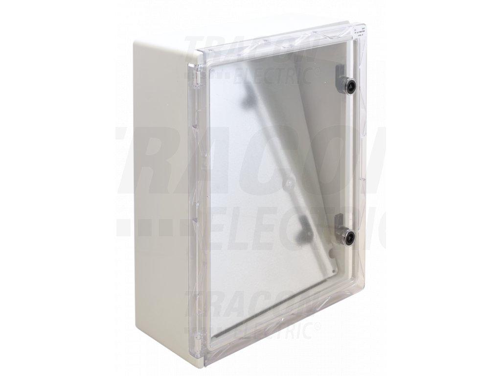 Rozvodná skriňa na povrch prázdna 400x500x175mm IP65 TME504018T