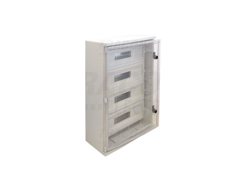 Rozvodná skriňa na povrch 88 (4x22) IP65 TME705025MT