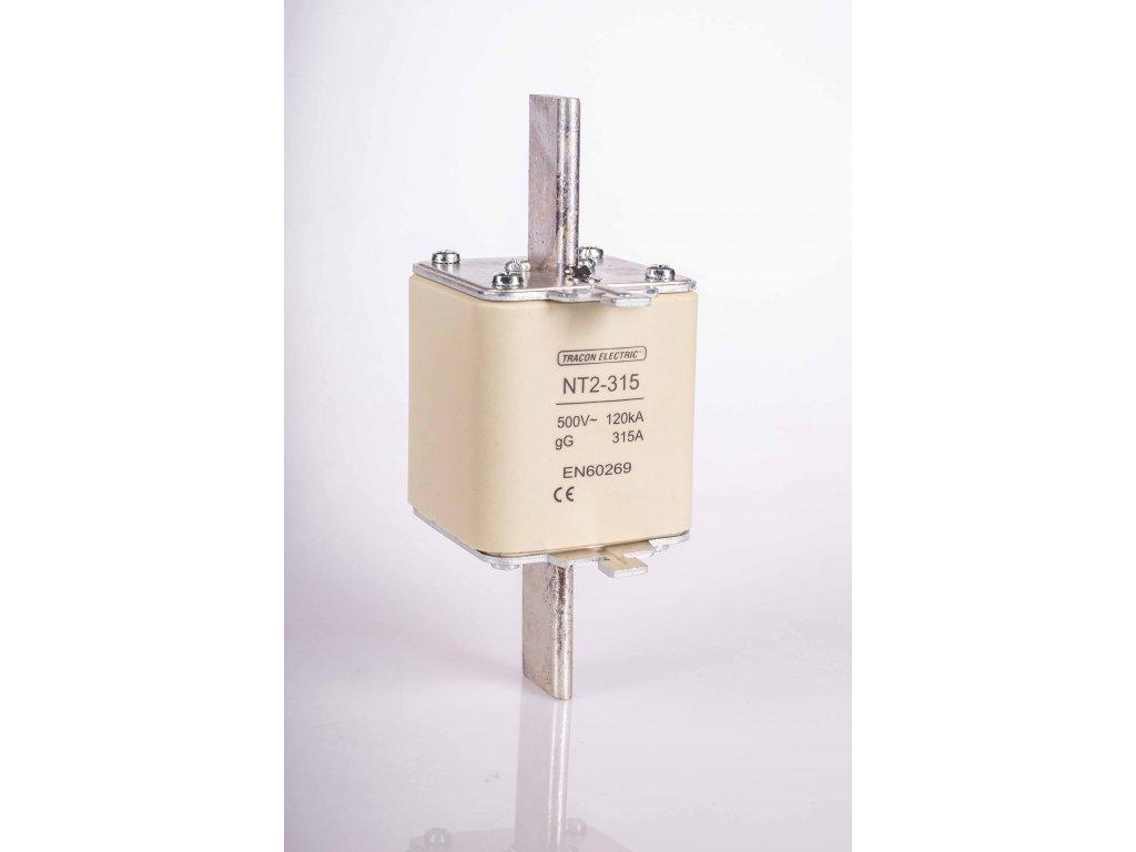 Nožová poistka 160A 500V AC gG NT2-160