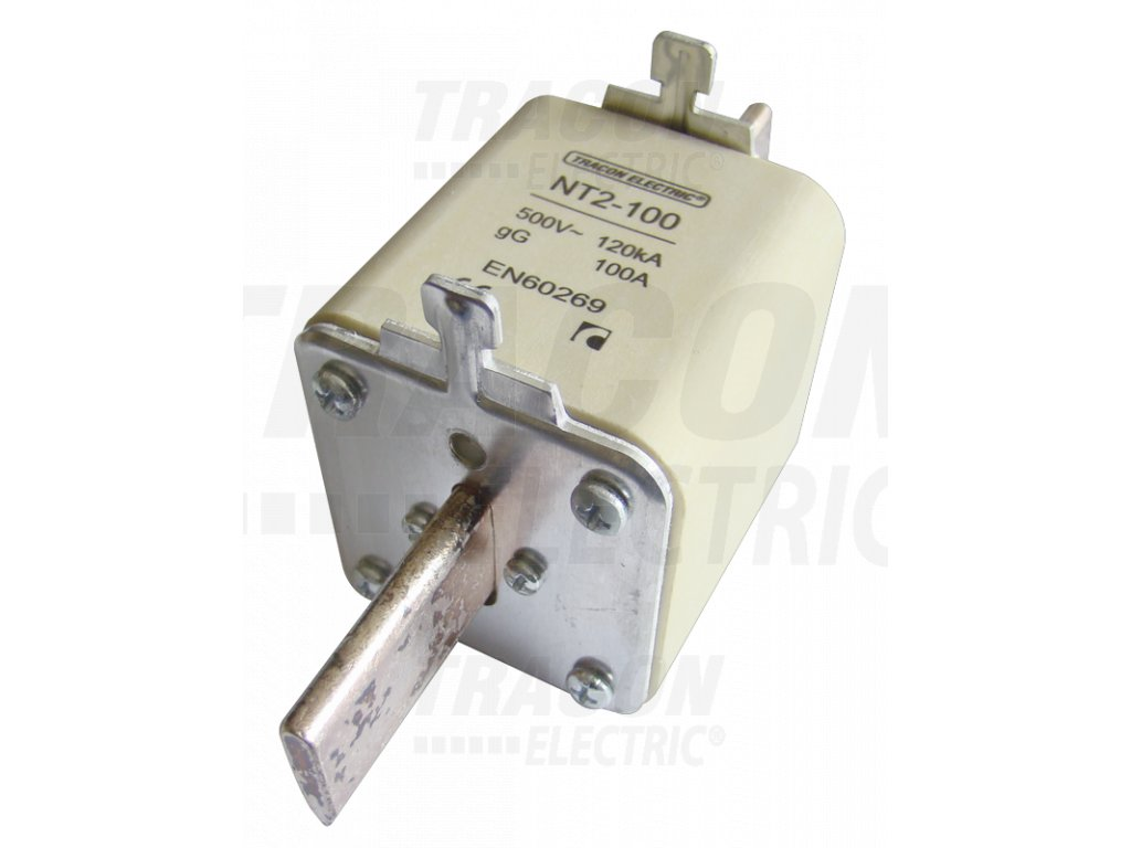 Nožová poistka 125A 500V AC aM NT2-125