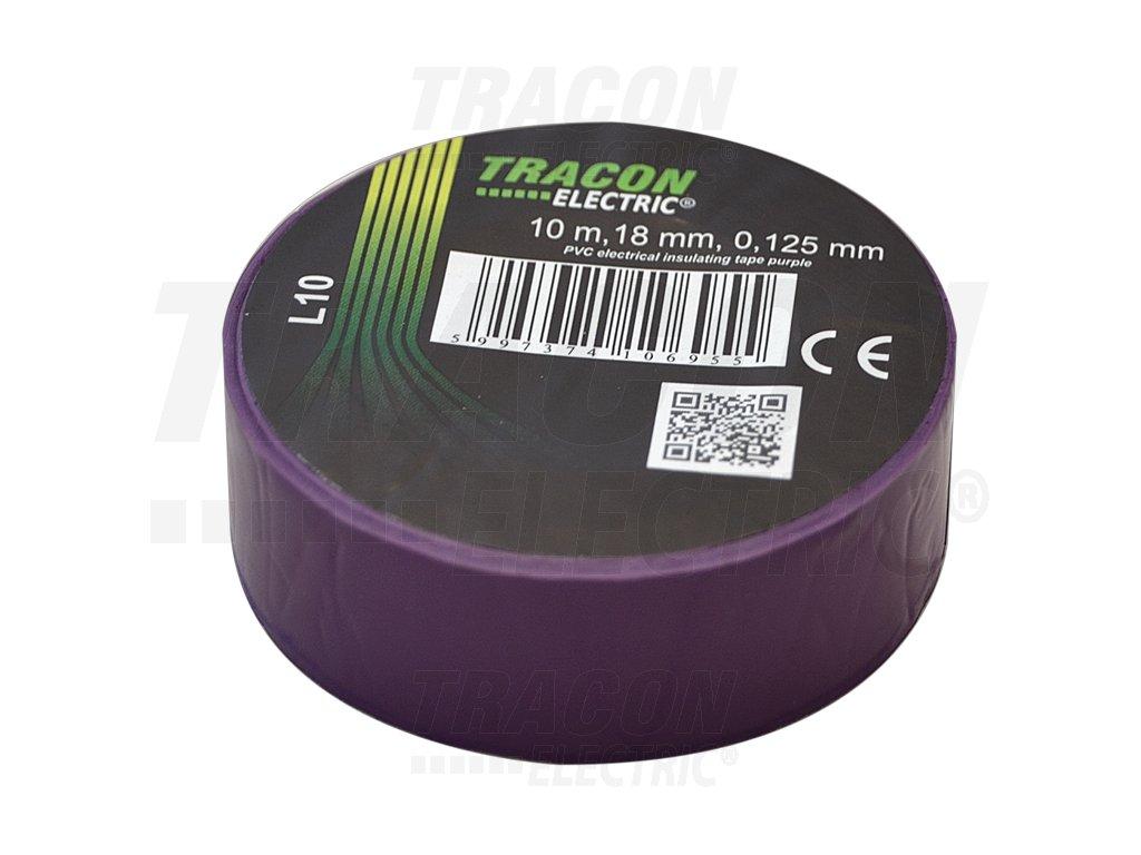 Izolačná páska fialová 10m×18mm
