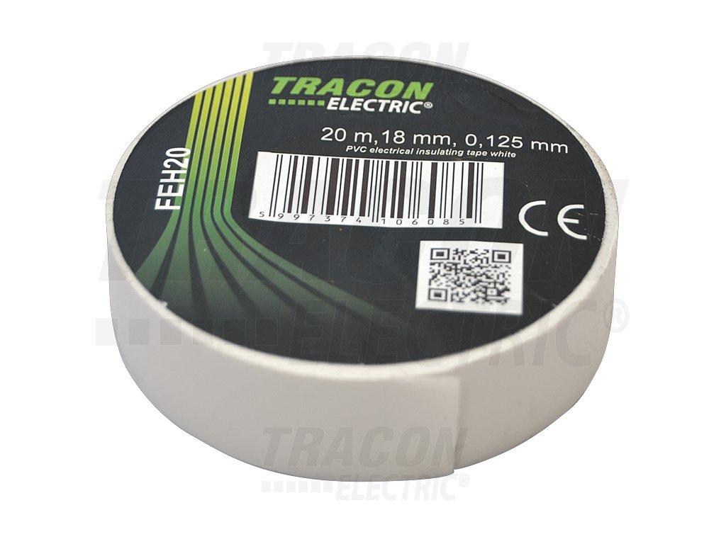 Izolačná páska biela 20m×18mm