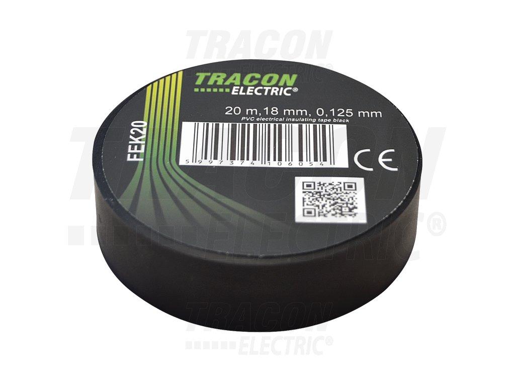 Izolačná páska čierna 20m×18mm