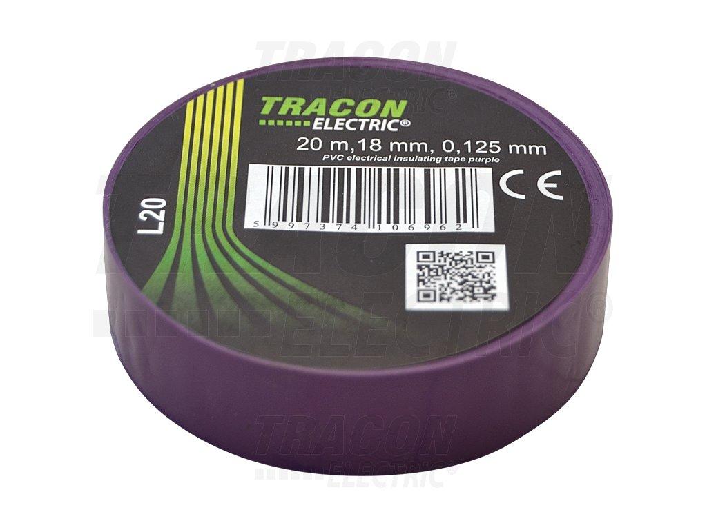 Izolačná páska fialová 20m×18mm