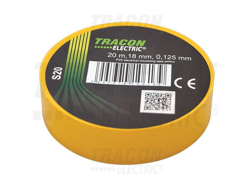 Izolačná páska žltá 20m×18mm