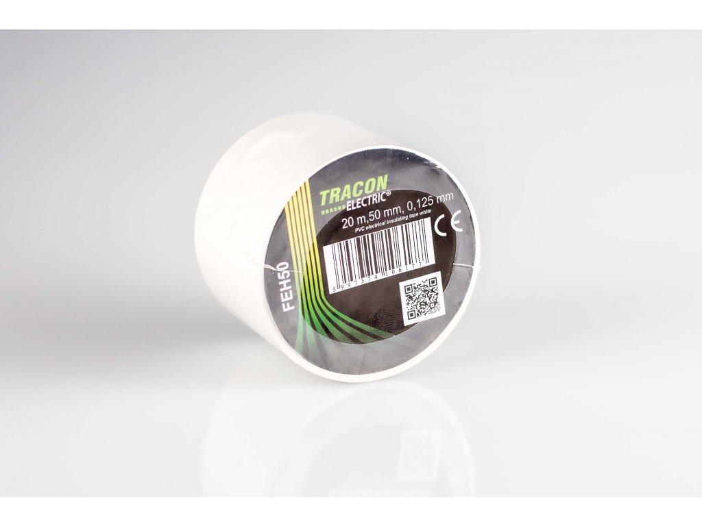Izolačná páska biela 20m×50mm