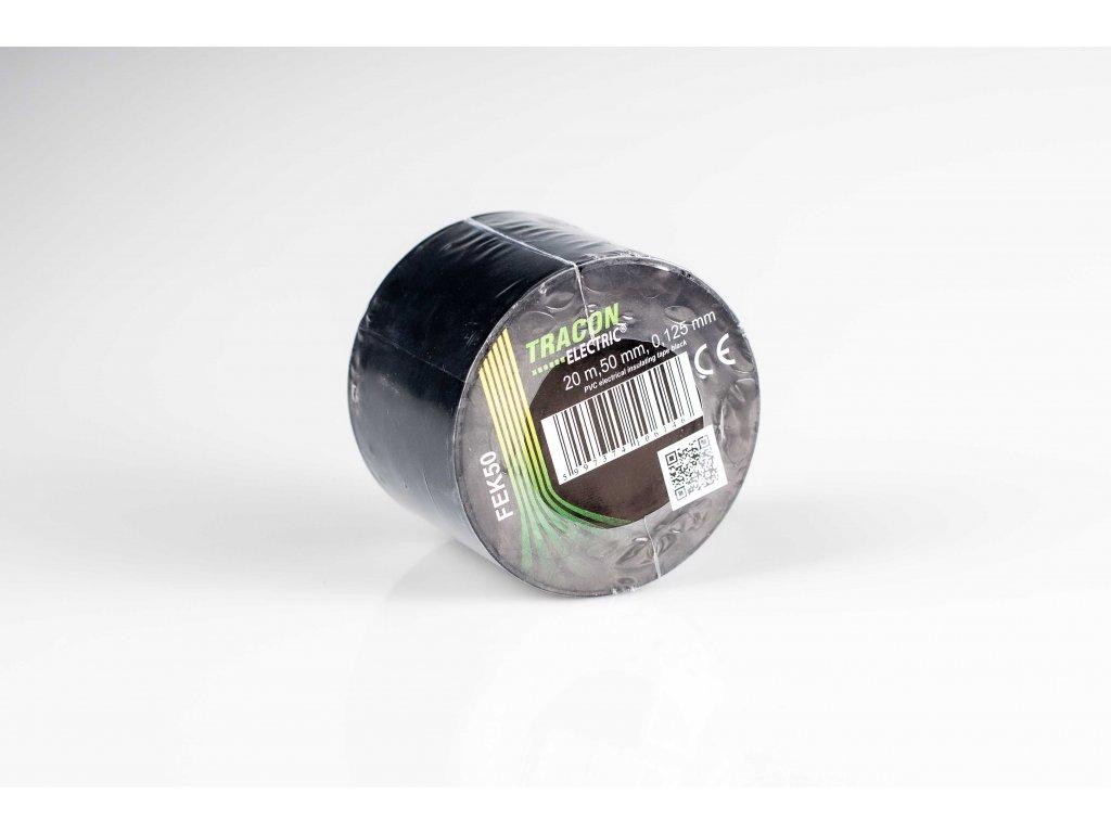 Izolačná páska čierna 20m×50mm
