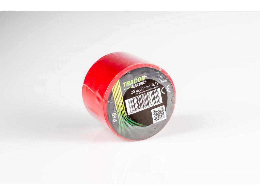 Izolačná páska červená 20m×50mm