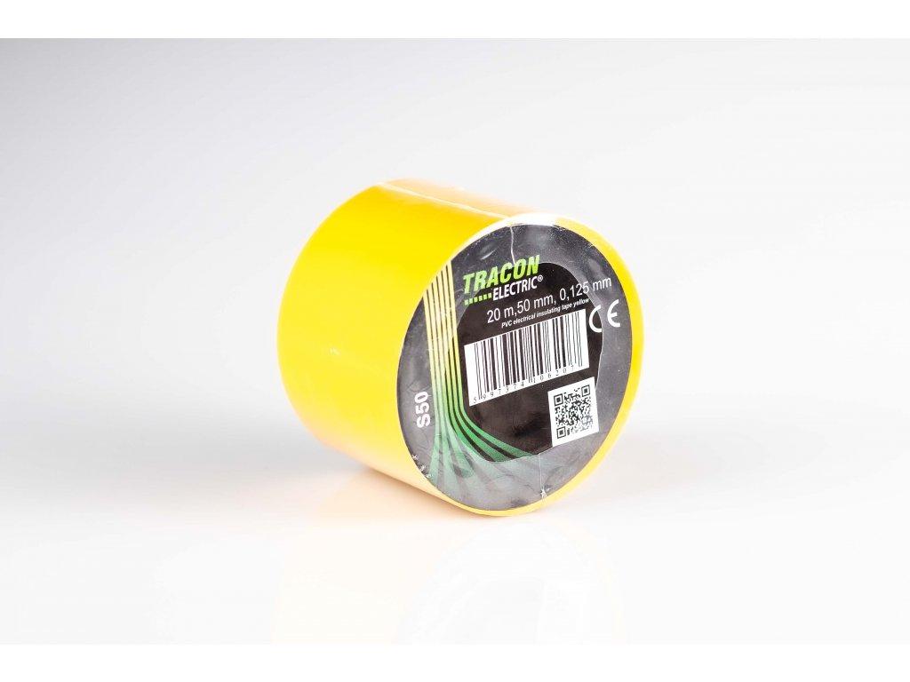 Izolačná páska žltá 20m×50mm