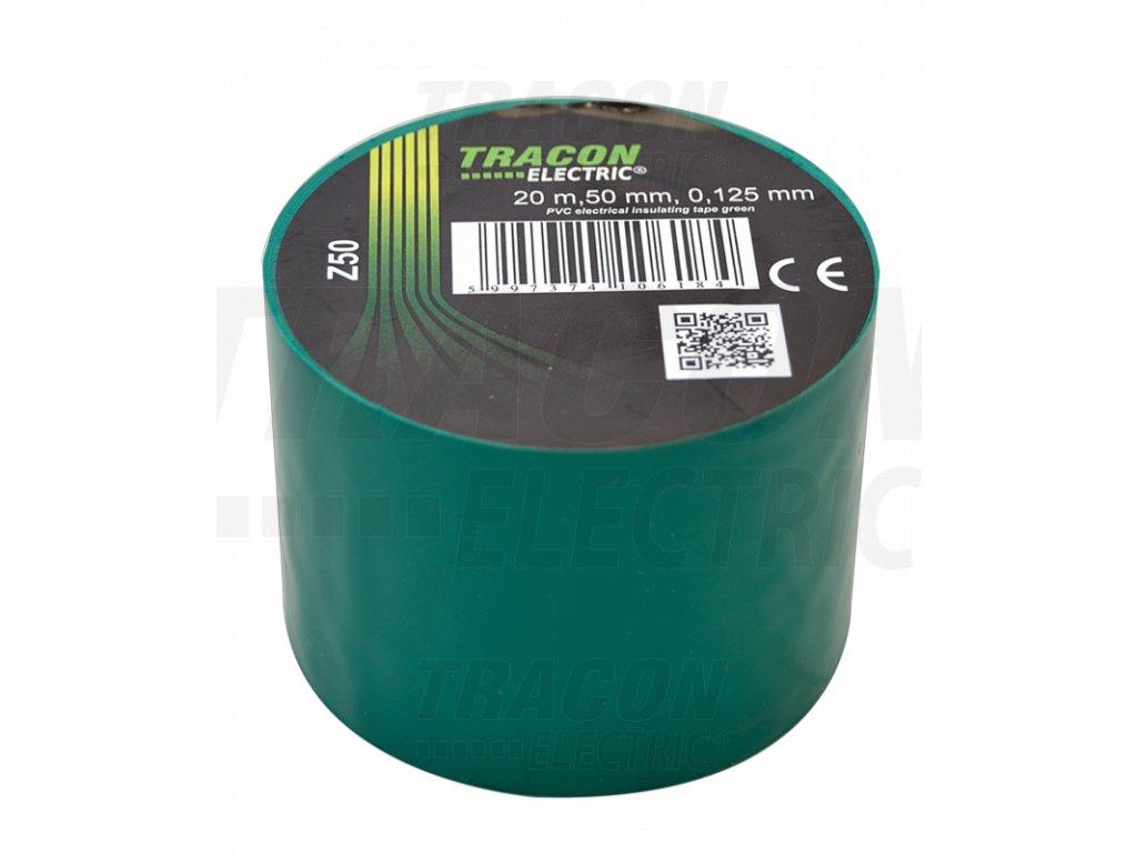 Izolačná páska zelená 20m×50mm