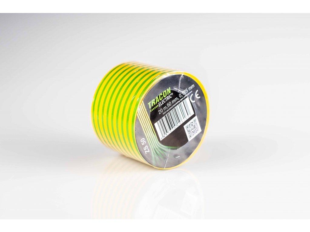 Izolačná páska žlto-zelená 20mx50mm