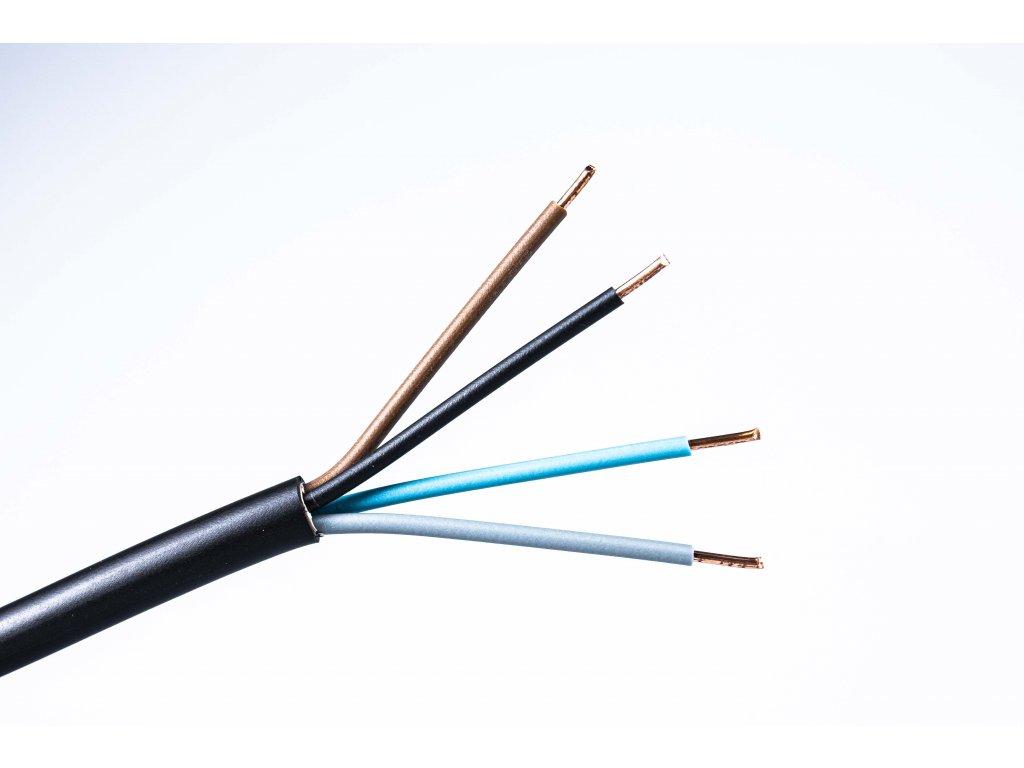 okruhly medeny kabel na vypinace cyky-o 4x1,5