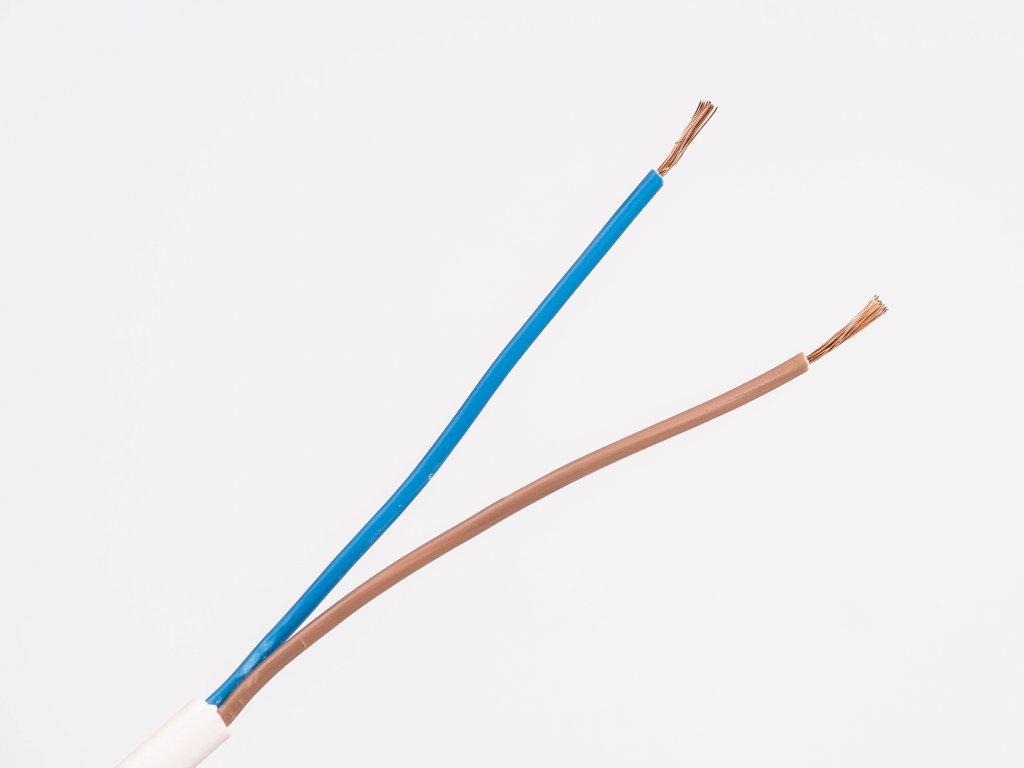 Kábel CYSY 2x0,75 H05VV-F