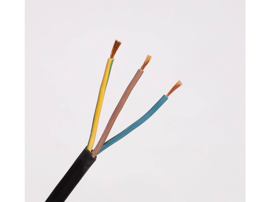 Kábel CGSG 3x1,5 H05RR-F