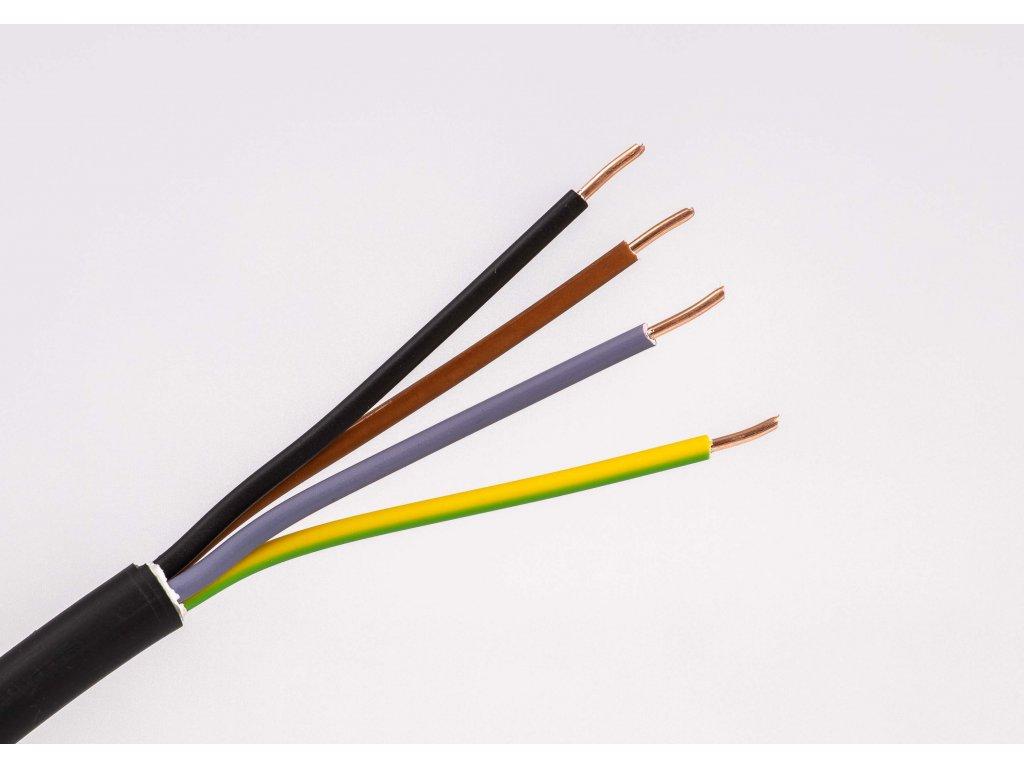Medený kábel cyky-j 4x žily