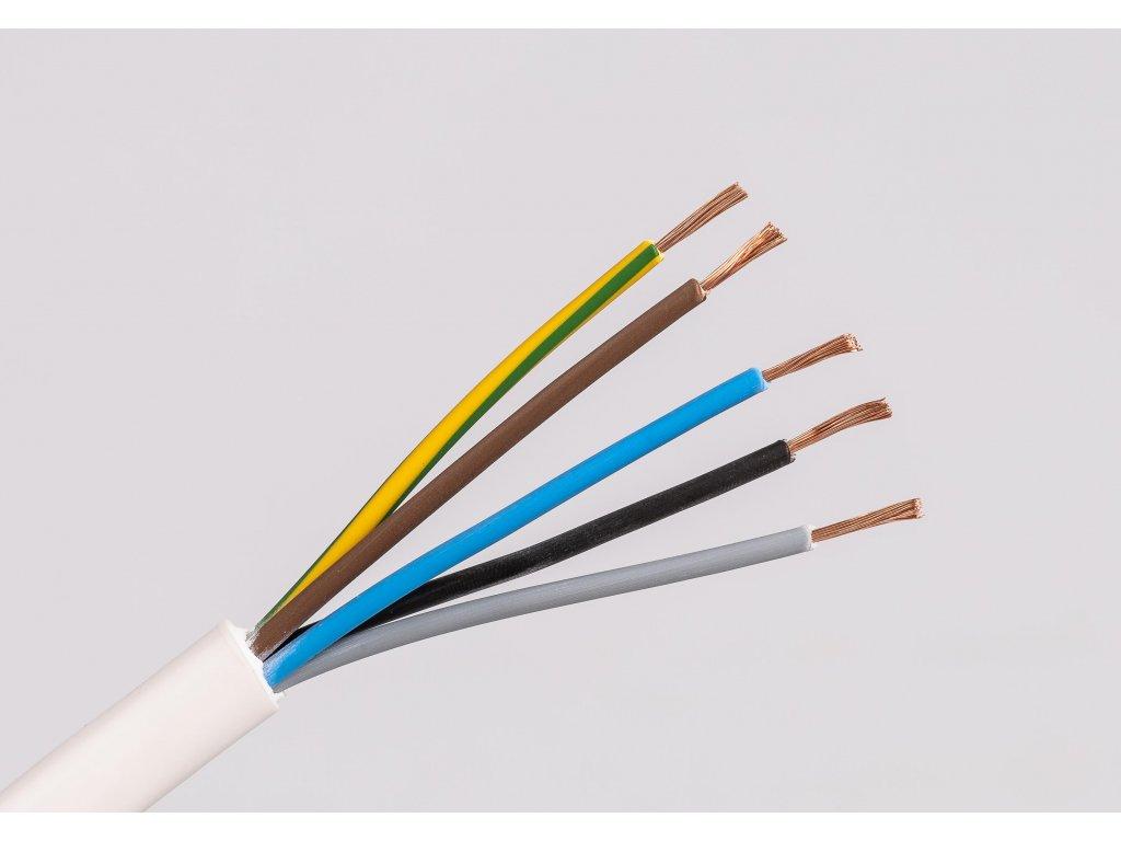 Kábel CYSY 5x2,5 H05VV-F