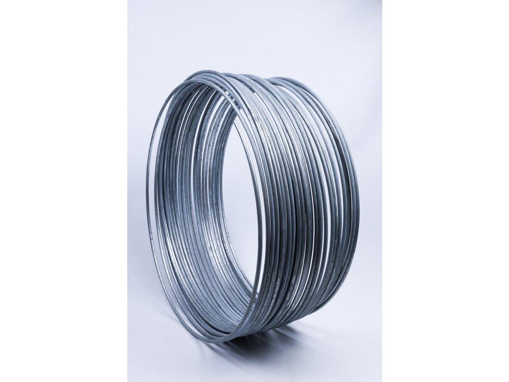 Bleskozvodový drôt guľatina ø10mm FeZn 1kg=cca 1,61m