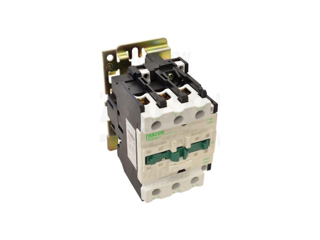 Stykač 40A cievka 230V AC 3xNO+(1xNO+1xNC) TR1D4011 Tracon
