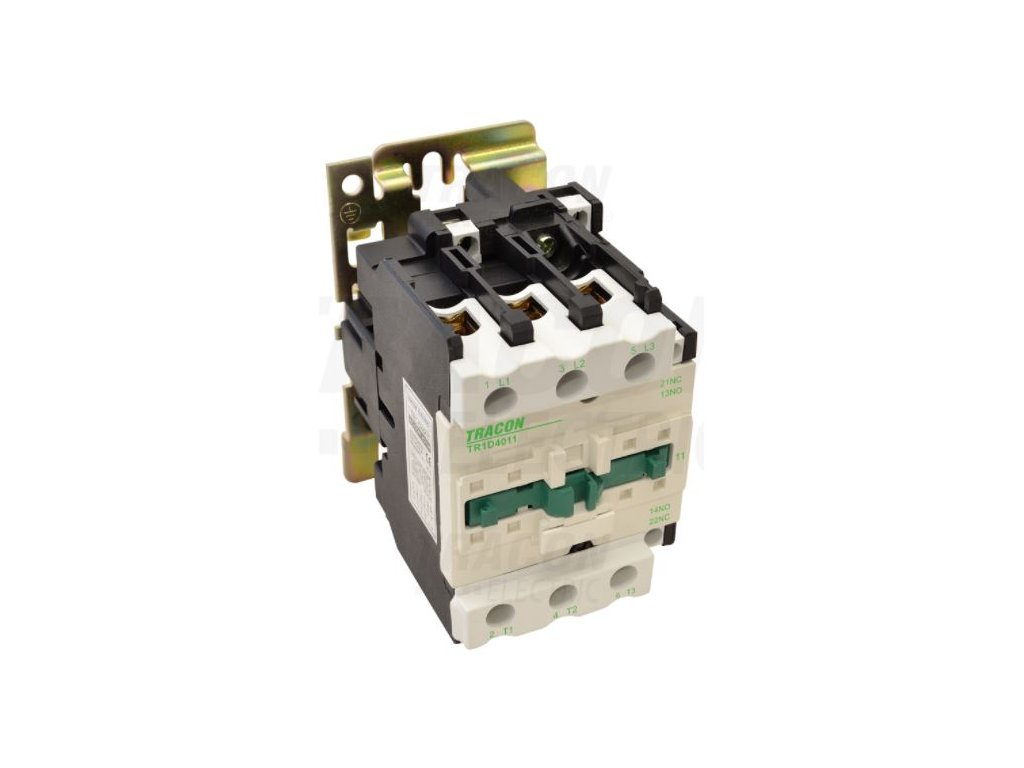 Stykač 40A cievka 400V AC 3xNO+(1xNO+1xNC) TR1D4011V7 Tracon
