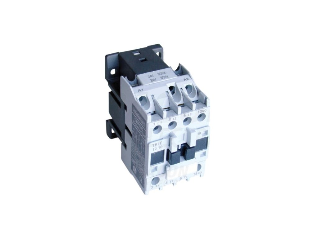 Stykač 9A cievka 24V AC 3xNO+1xNC TR1F0901B7 Tracon