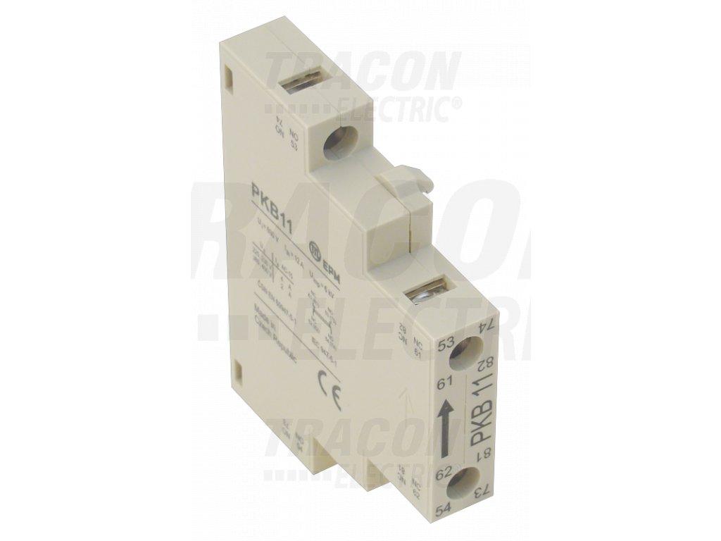 Blok bočných pomocných kontaktov k stykačom 230V 50Hz 2A 1xNC + 1xNO TPKB11 Tracon
