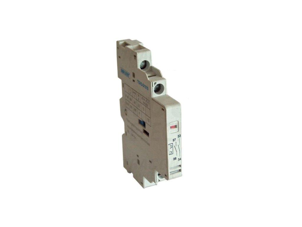 Signálny kontakt preťaženia + pomocný kontakt k TGV2 1xNC+1xNC TGV2-D0101