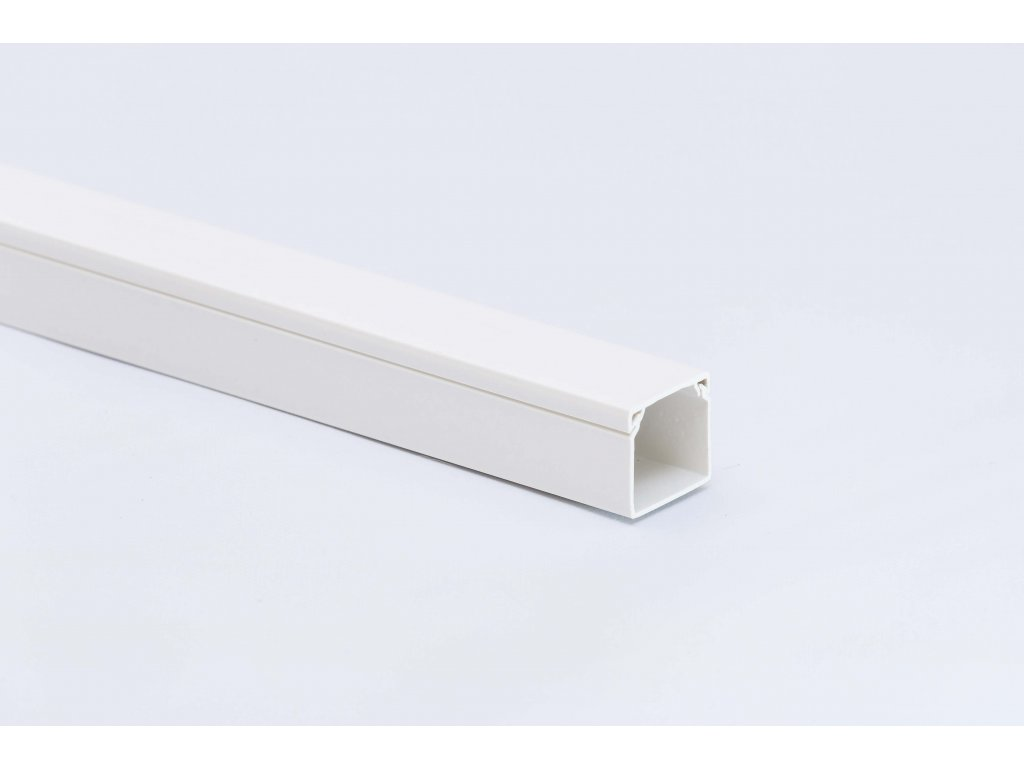 Lišta biela na káble PVC 100x60mm 2m