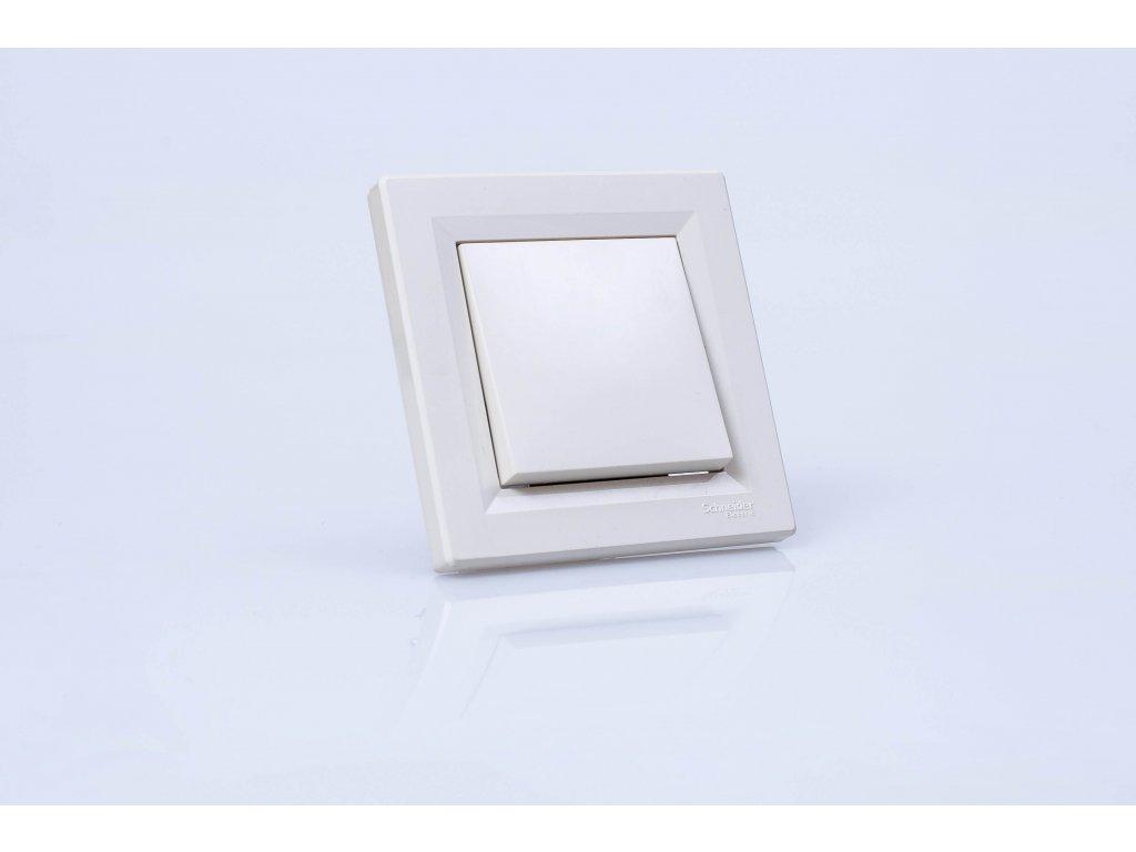 Vypínač č.1 Asfora krémový EPH0100323