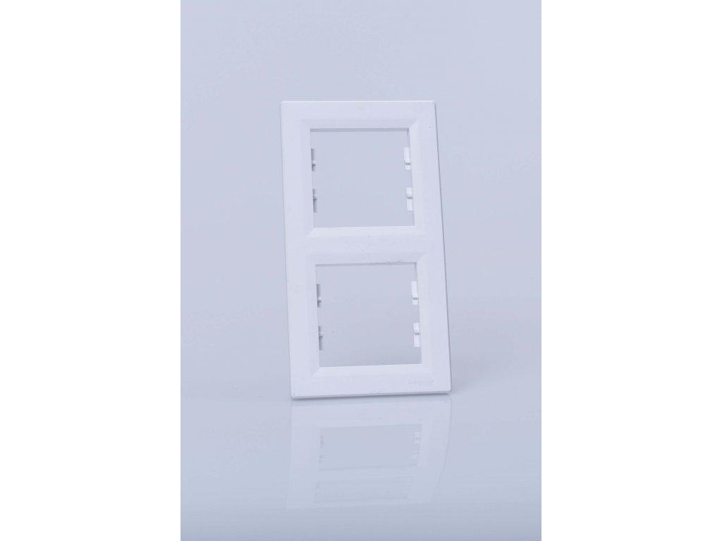 2-rámček Asfora zvislý biely EPH5810221