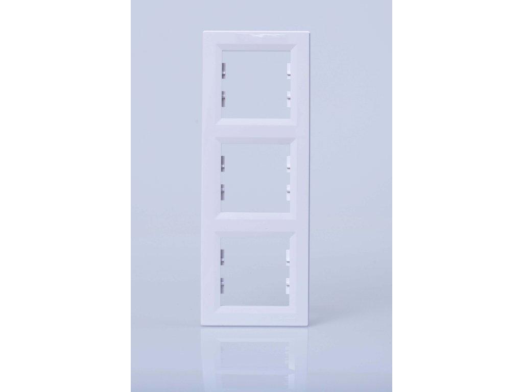 3-rámček Asfora zvislý biely EPH5810321