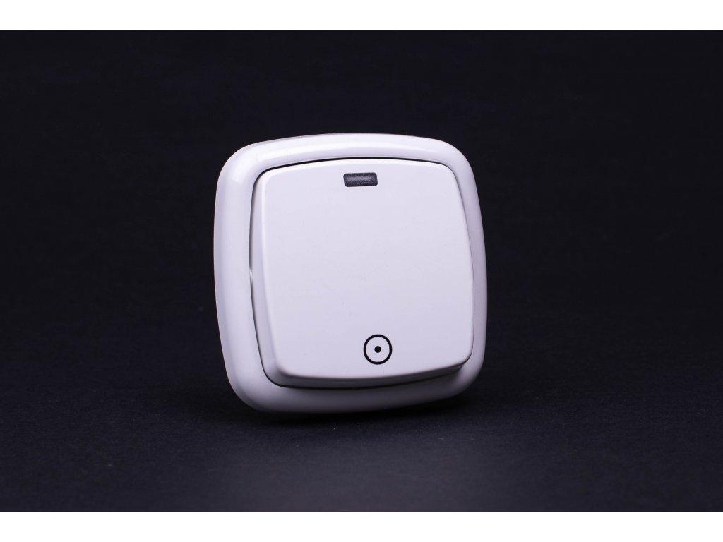 Zvončekové tlačidlo Modul 1/0S biele 4FN57588.901