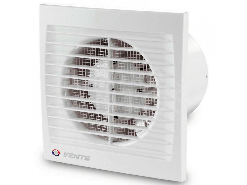 Ventilátor bytový 95m3/h VENTS 100STL časový spínač guličkové ložisko