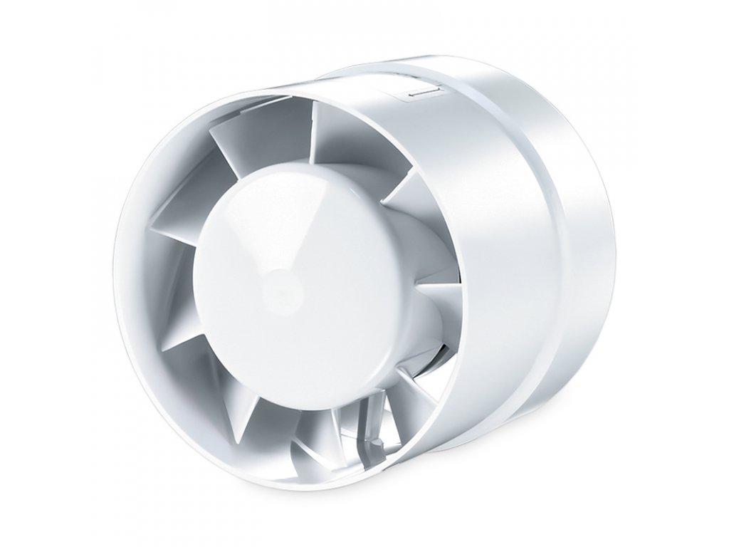 Ventilátor potrubný 185m3/h VENTS 125VKOL guličkové ložisko