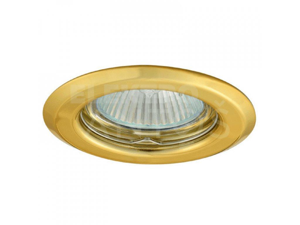 Bodové svietidlo okrúhle pevné zlaté ARGUS CT-2114-G 00300